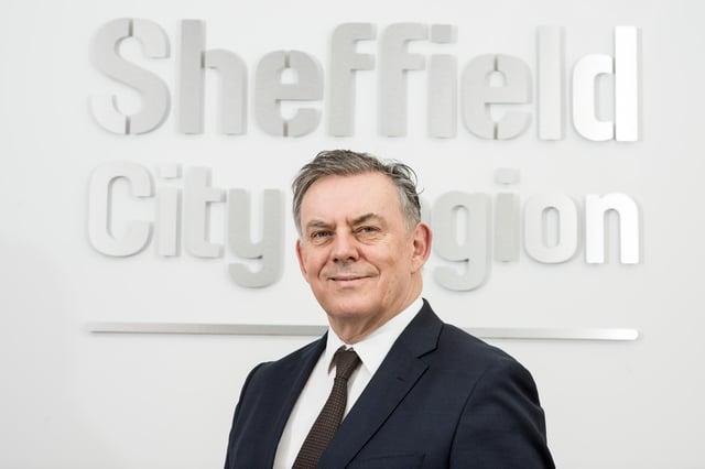 James Muir, Chairman of Sheffield City Region Local Enterprise Partnership.