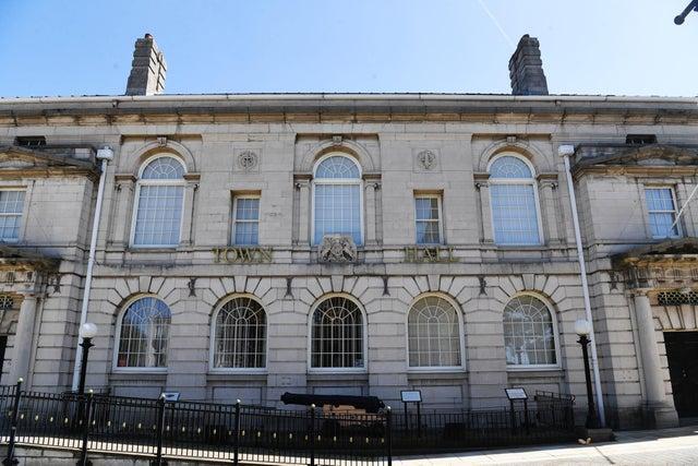 Rotherham Town Hall.