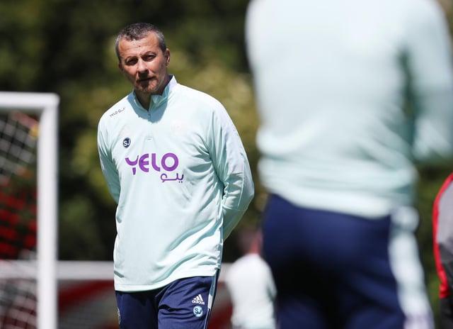 Slavisa Jokanovic has started work as Sheffield United manager: Simon Bellis / Sportimage
