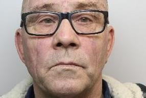 Pictured is Paul Leach, aged 62, of Dearne Road, Bolton-upon-Dearne, Rotherham, who has been sentenced to 72 months of custody after he admitted sexually assaulting a woman in her own home.