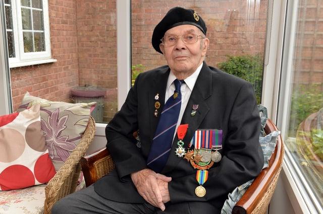 D-Day veteran Albert Holmshaw