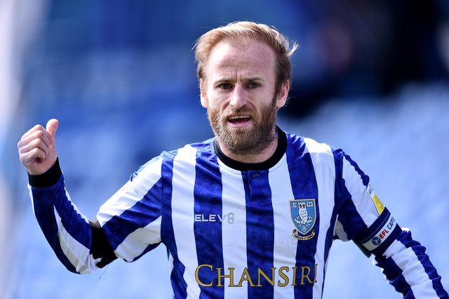 Barry Bannan says there's no relegation clause in his Sheffield Wednesday contract. (Photo by Nathan Stirk/Getty Images)