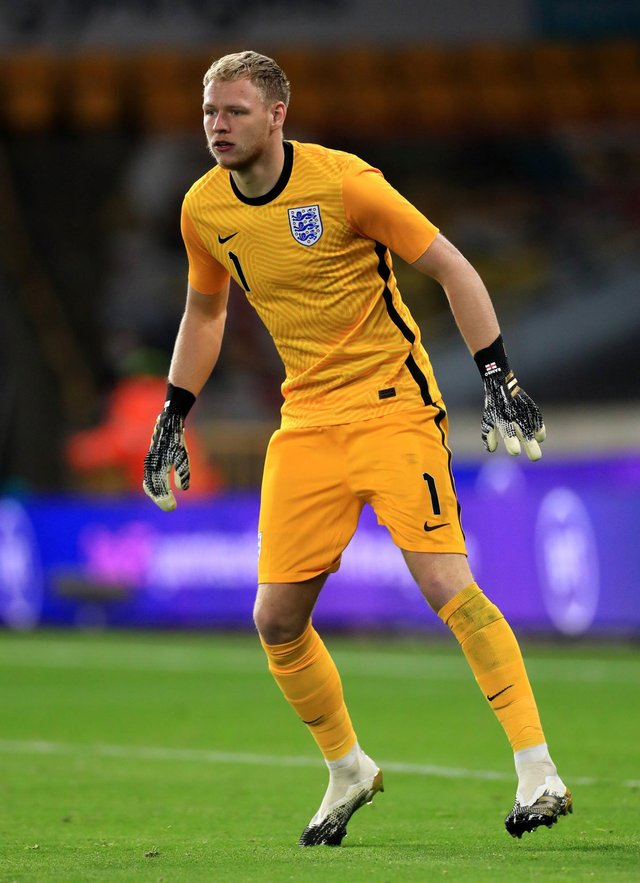 Aaron Ramsdale has previously played for, and captained, England's U21 side: Mike Egerton/PA Wire.
