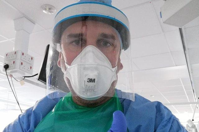 Joan Pons Laplana worked in intensive care at the Royal Hallamshire Hospital in Sheffield during the coronavirus crisis