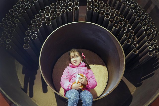 Kelham Island Museum has reopened to visitors and six-year-old Umay Ibrahimli was one of the first to walk back through the doors on Thursday, May 20