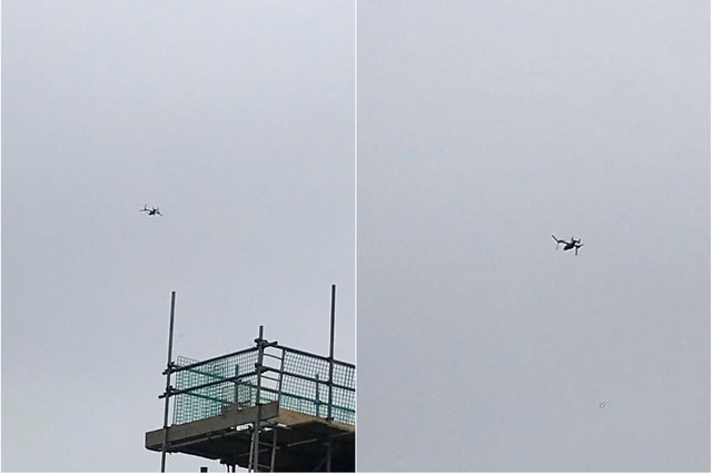 Military plane seen over Sheffield - Credit: Anthony Higgins