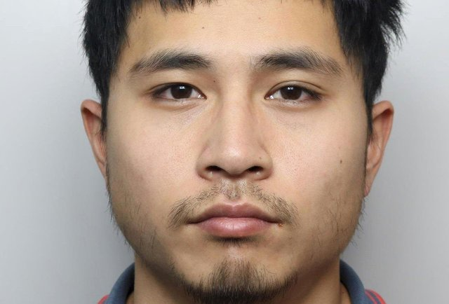 Leon Chan, 26, of Burngreave Road, Sheffield, was jailed after taking photos up the skirt of a 17-year-old girl in school uniform on a train