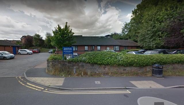 Hackenthorpe Medical Centre in Sheffield was vandalised at the weekend