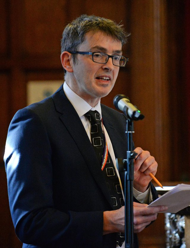 Greg Fell, Sheffield Director of Public Health, pictured.