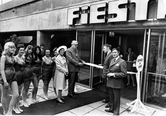 The official opening of the Fiesta Club in Sheffield