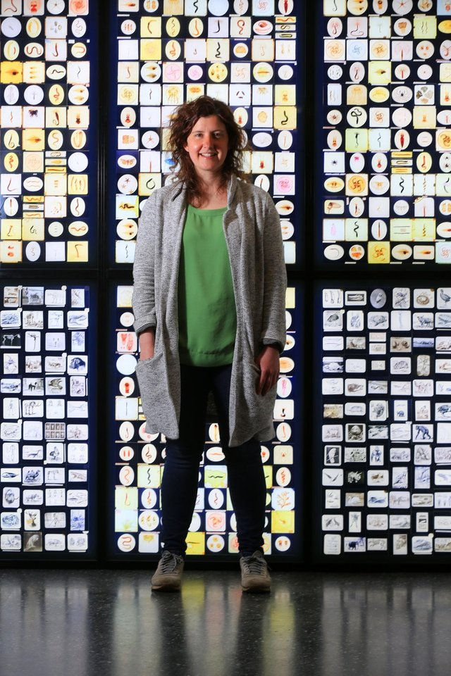 Feature at the Alfred Denny Museum in Sheffield. Pictured is Dr Nicola Hemmings. Picture: Chris Etchells