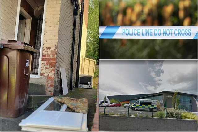 Police officers uncovered a drug factory in Wincobank, Sheffield, after raiding a house