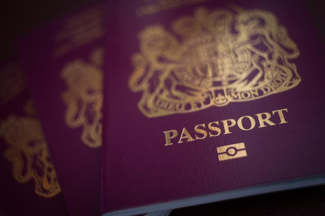 UK passports   (Photo by Matt Cardy/Getty Images)