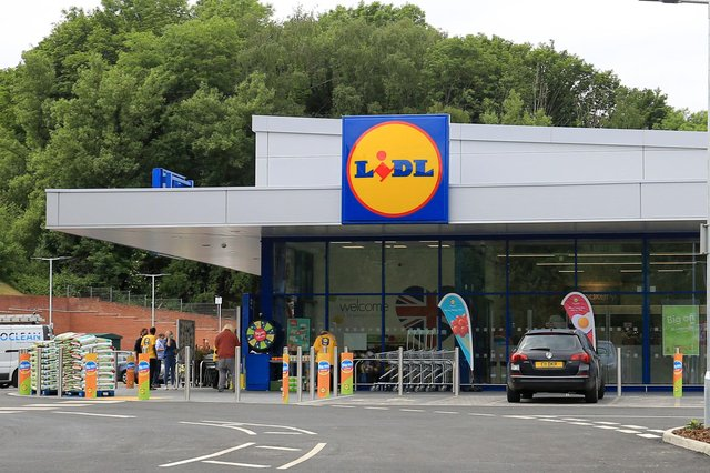 The new Malin Bridge Lidl which opened today (Thursday, June 17). Picture: Chris Etchells