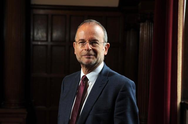 Sheffield MP Paul Blomfield.  Picture Tony Johnson.