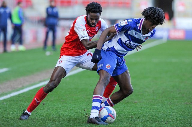 Rotherham's Matt Olosunde is out of contract at the end of this season