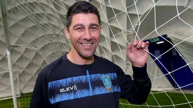 Adriano Basso is the new goalkeeper coach at Sheffield Wednesday. (via swfc.co.cuk)