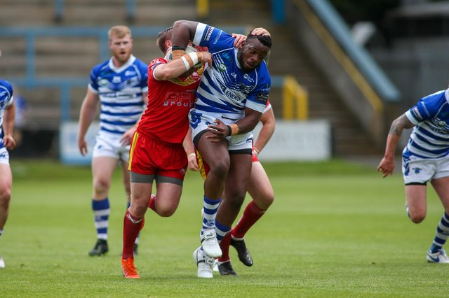 Brad Knowles has tipped Sheffield Eagles to make the play-offs. Photo: Simon Hall