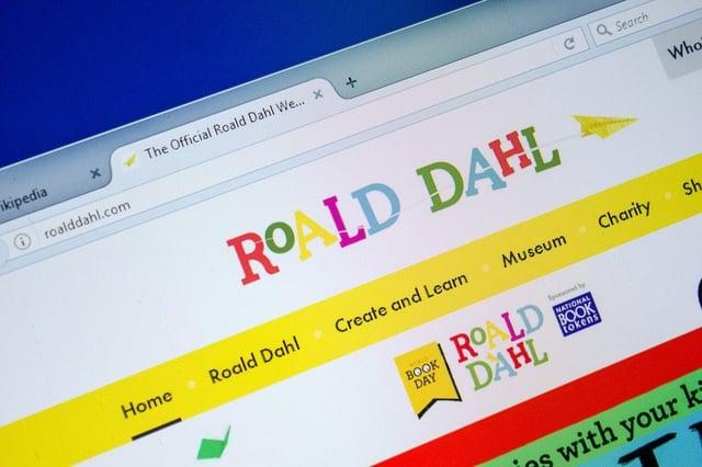 RoaldDahl.com website