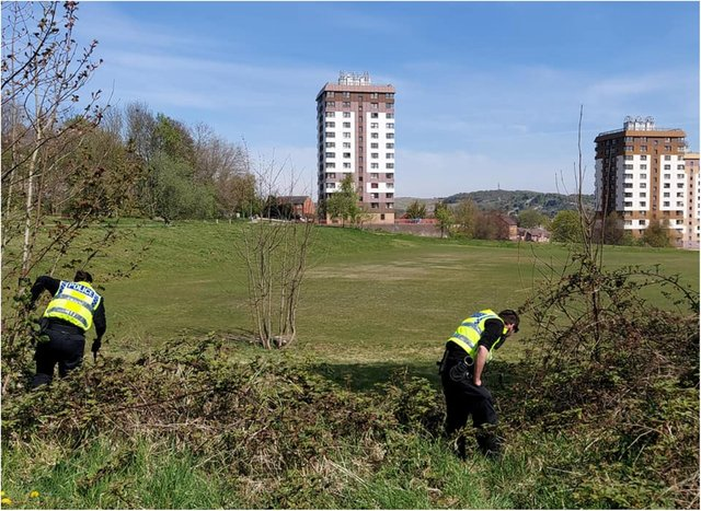 Live shotgun ammunition was found by the police during searches of The Ponderosa, between Upperthorpe and Crookesmoor, in Sheffield