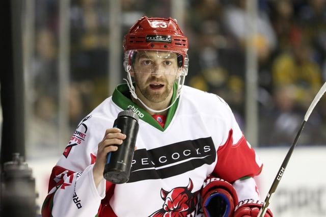 Evan Mosey. Photo: Cardiff Devils.