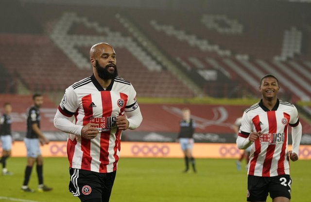 David McGoldrick, the Sheffield United centre-forward, faces his former club Southampton this weekend: Andrew Yates/Sportimage