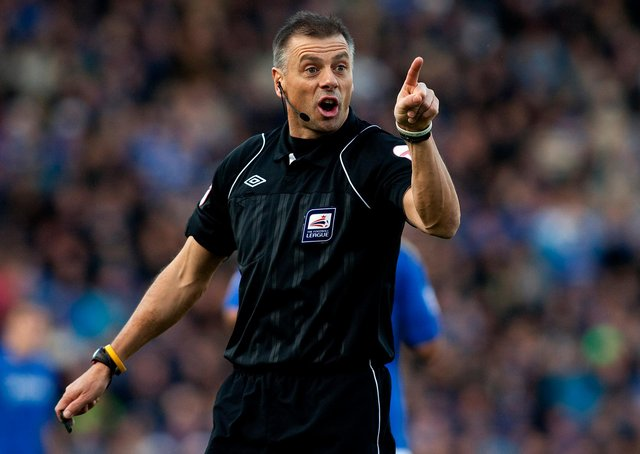 Mark Halsey believes the decision not to send off Ben Gibson in Sheffield Wednesday's defeat to Norwich on Sunday was marginal.