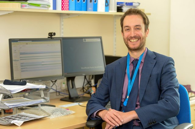Mr Roland Freeman, the new Principal at Sheffield Park Academy. Picture by Dean Atkins