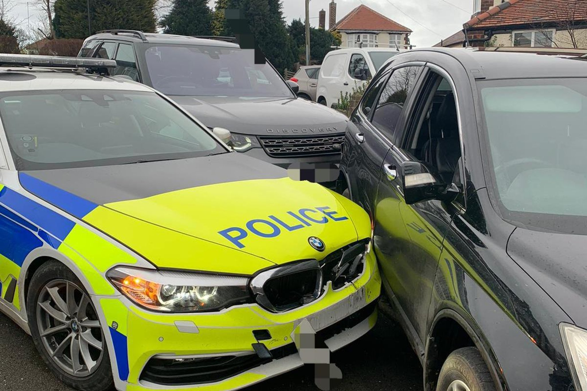 'Dangerous offender' apprehended after police car chase through Sheffield suburb