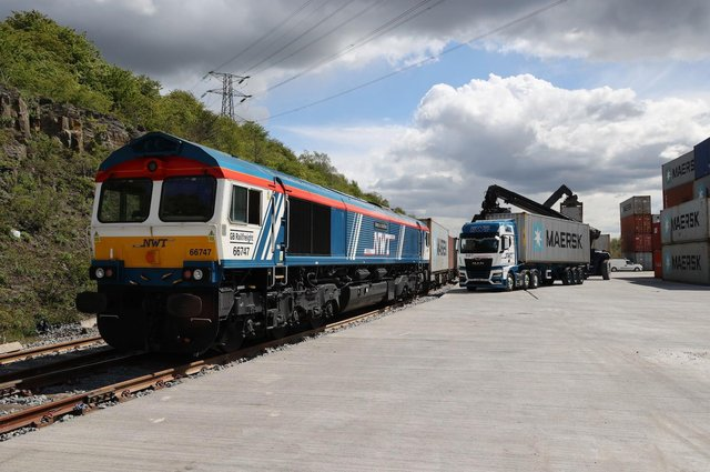 A disused rail marshalling at Tinsley has been redeveloped by Sheffield logistics firm Newell and Wright Transport into a cargo terminal.