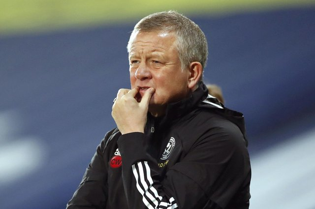 Former Sheffield United manager Chris Wilder: Andrew Boyers/PA Wire.