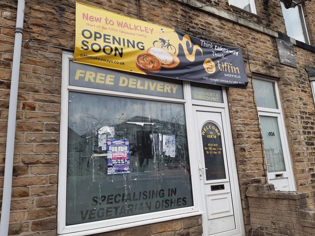 A takeaway looks set to open on Barber Road, Crookesmoor.