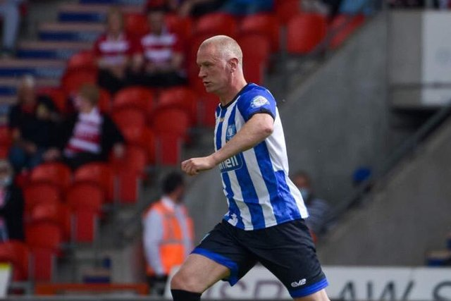 Lee Bullen was back in a Sheffield Wednesday shirt over the weekend for charity. (Andrew Kelly photography)