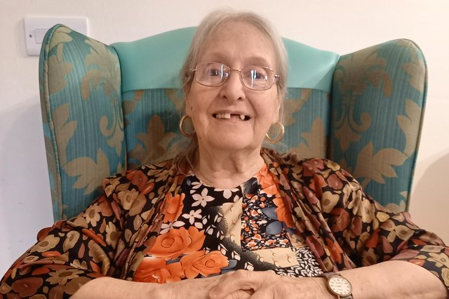 Norma Cutts, who lives at Wood Hill Grange