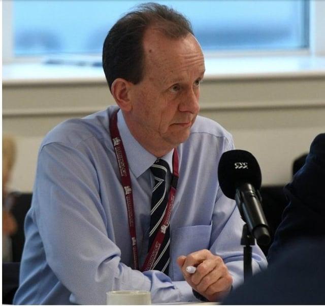 Council leader Sir Steve Houghton.