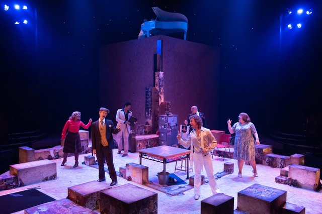 The cast of Talent at the Crucible Theatre, Sheffield