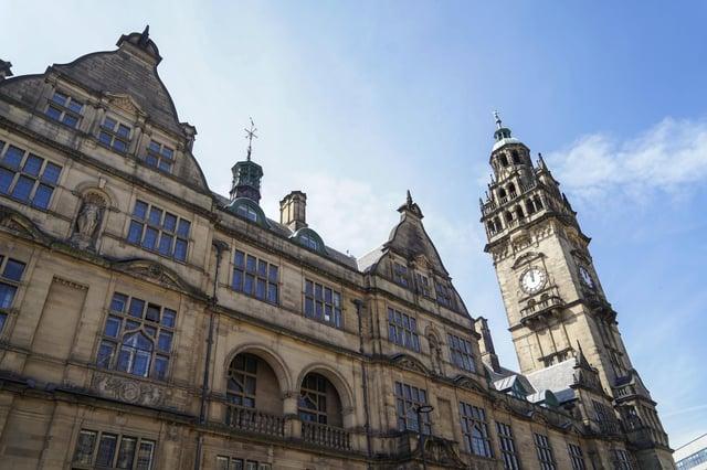 Sheffield Town Hall.  Photo Scott Merrylees