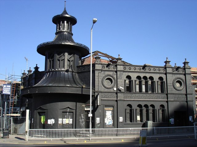 The Lansdowne Picture Palace during development work