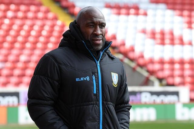 Sheffield Wednesday manager Darren Moore.