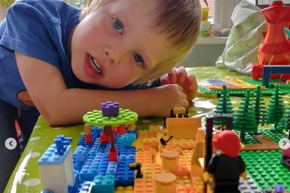 Gregory Mason, aged 4 from Sheffield.