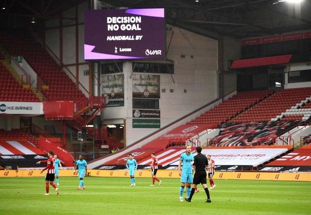 Sheffield United 1 Tottenham 0 LIVE: Watch Sander Berge put Blades ...