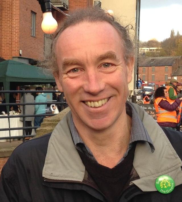 Councillor Douglas Johnson.