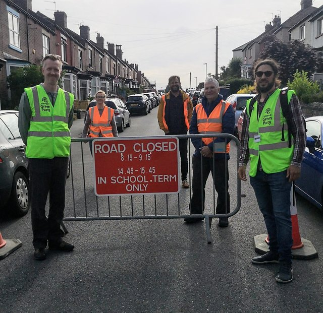 School road closures.