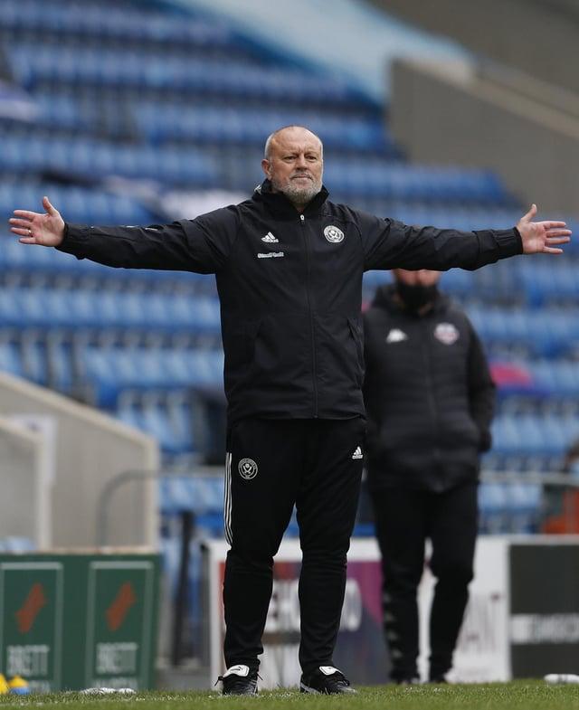 Sheffield United Women manager Neil Redfearn.