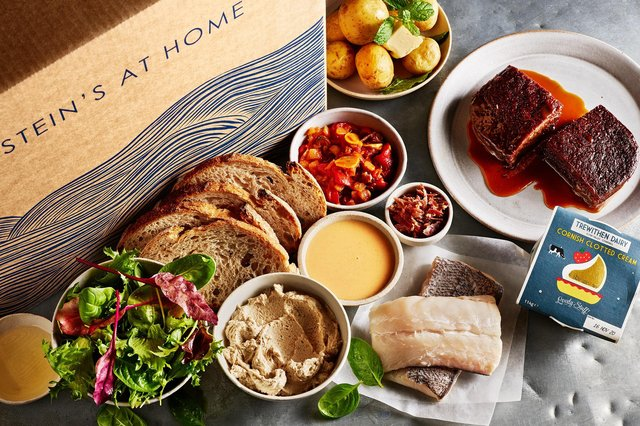 Full contents of the Stein's at Home hake box. Image: James Murphy Photography