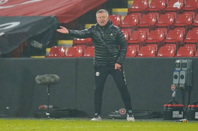 Chris Wilder, Manager of Sheffield United. (Photo by Tim Keeton - Pool/Getty Images)