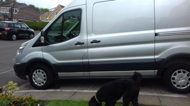 The van stolen from Roundabout is a silver Ford Transit 2.2 Trend, reg SF64 UVG