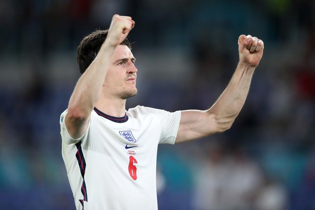 Sheffield's Harry Maguire was named in the Euro 2020 team of the tournament (pic: Nick Potts/PA Wire)