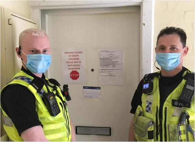South Yorkshire Police and Sheffield Council have secured a closure order for a flat where anti-social behaviour has made life a misery for residents