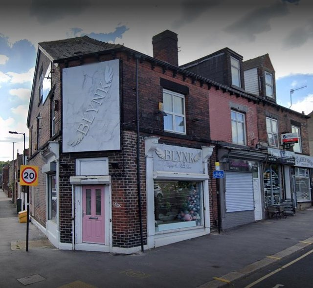 'Considerable damage' has been caused to the shopfront of Blynk beauty salon.